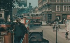 Amazing film of London, originally shot in color in 1926!