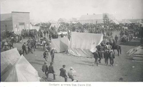 Guthrie A town ten days old