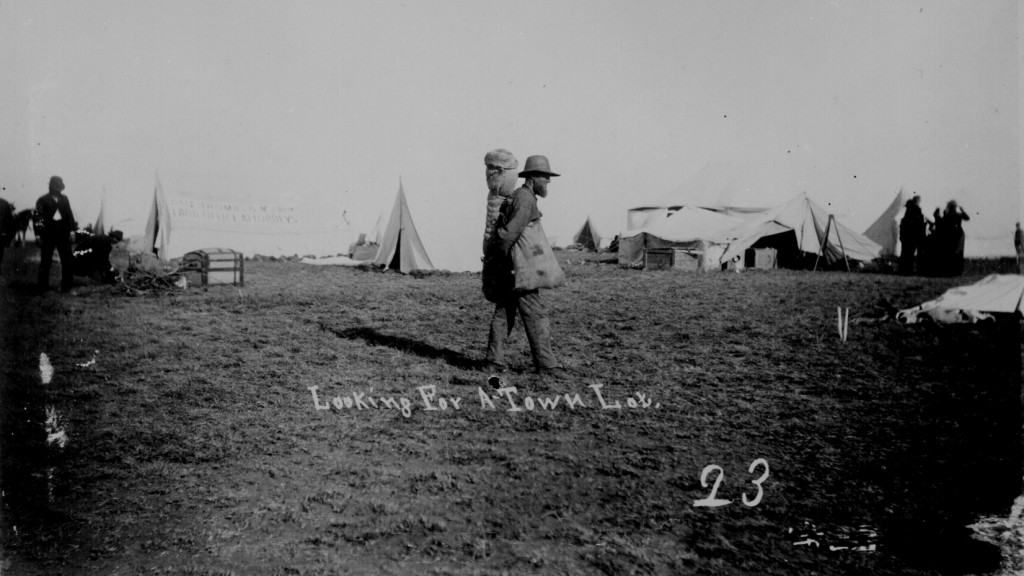 Looking for a town lot