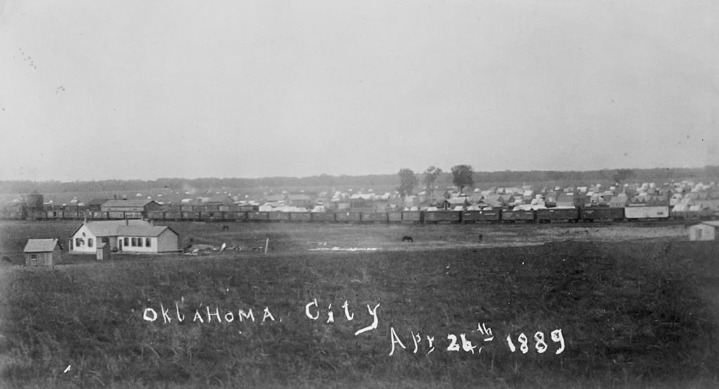 Oklahoma city April 25, 1889
