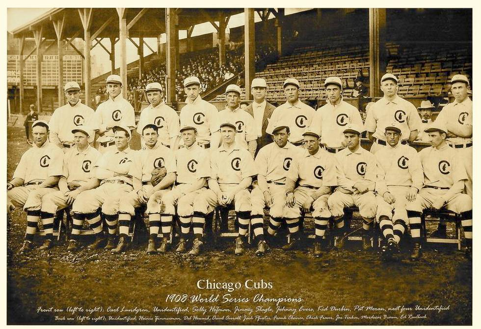 chicago cubs world series 1908