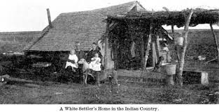 white settler in Indian Country