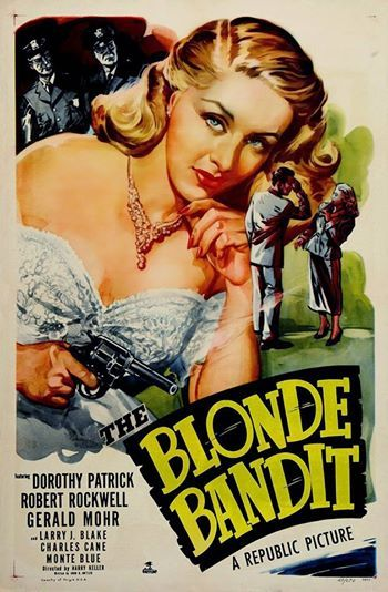 Blonde bandit