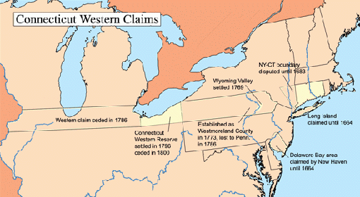 Connecticut western claims