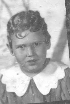 Christie age four