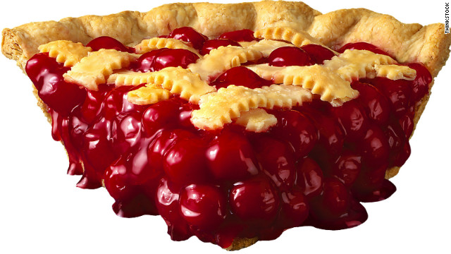 cherry pie piece