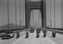 Happy Birthday to the Golden Gate Bridge! See this rare vintage film of opening day
