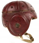 Can you imagine there was a time in football when helmets were not worn? [vintage film]