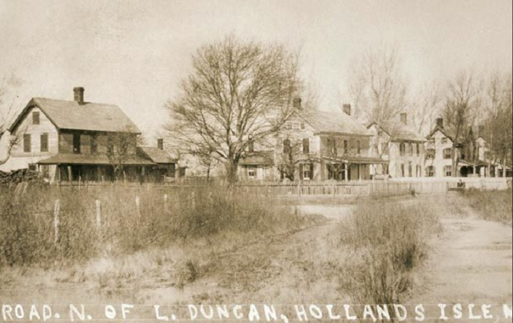 Holland Island early scene