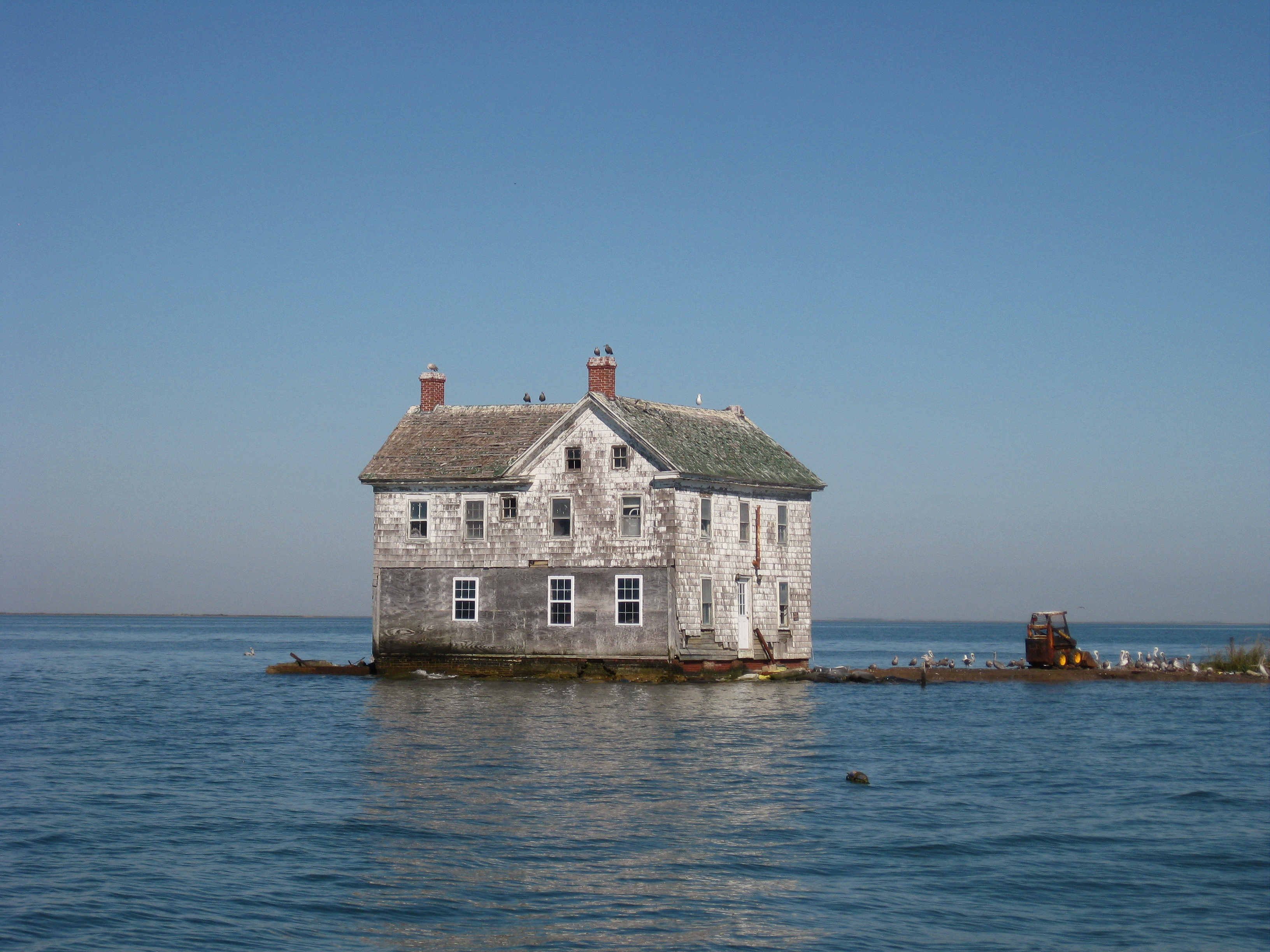 Holland Island house
