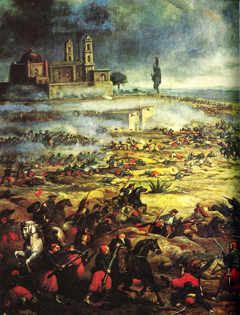 Cinco de Mayo Battle of Puebla (Wikipedia)