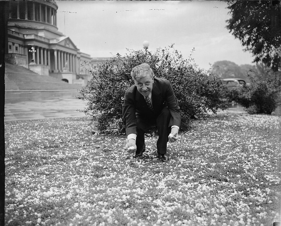 Freak hail storm hit capital Washington D.C Rep. Boland. (Library of Congress)