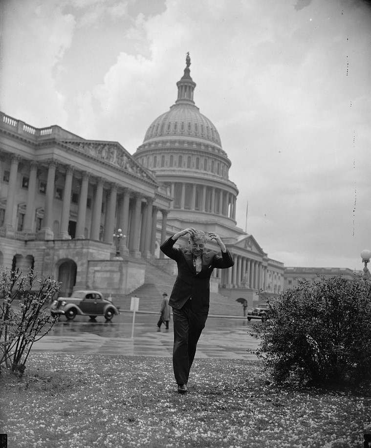 Freak hail storm hit capital Washington D.C. (Library of Congress)