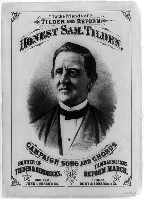 Honest Sam. Tilden, Campaign Song and Chorus 1876 election