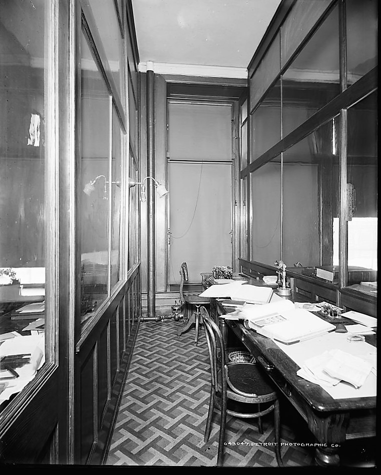 Stenographer's room 1919 Detroit Publishing Company (Library of Congress) (2)