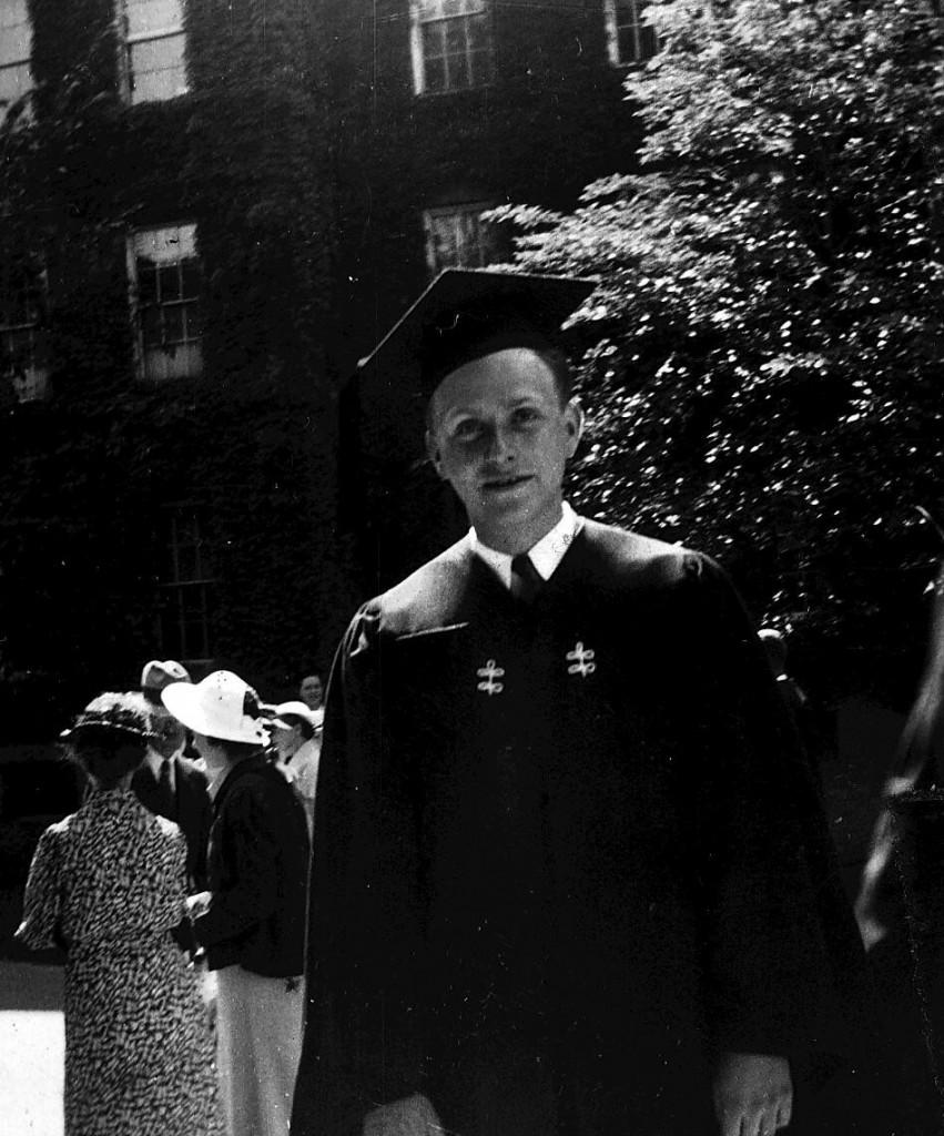 Irving Fine College grad of 1937