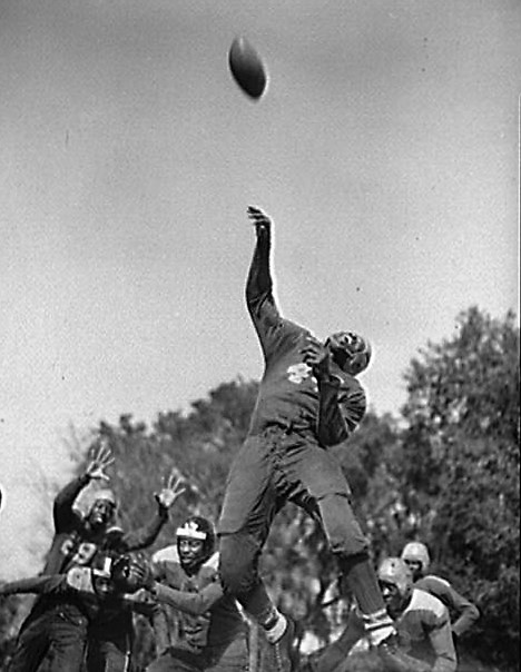 army saved college football in 1943