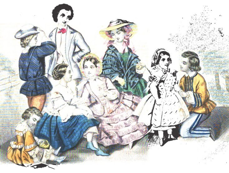 children 1855