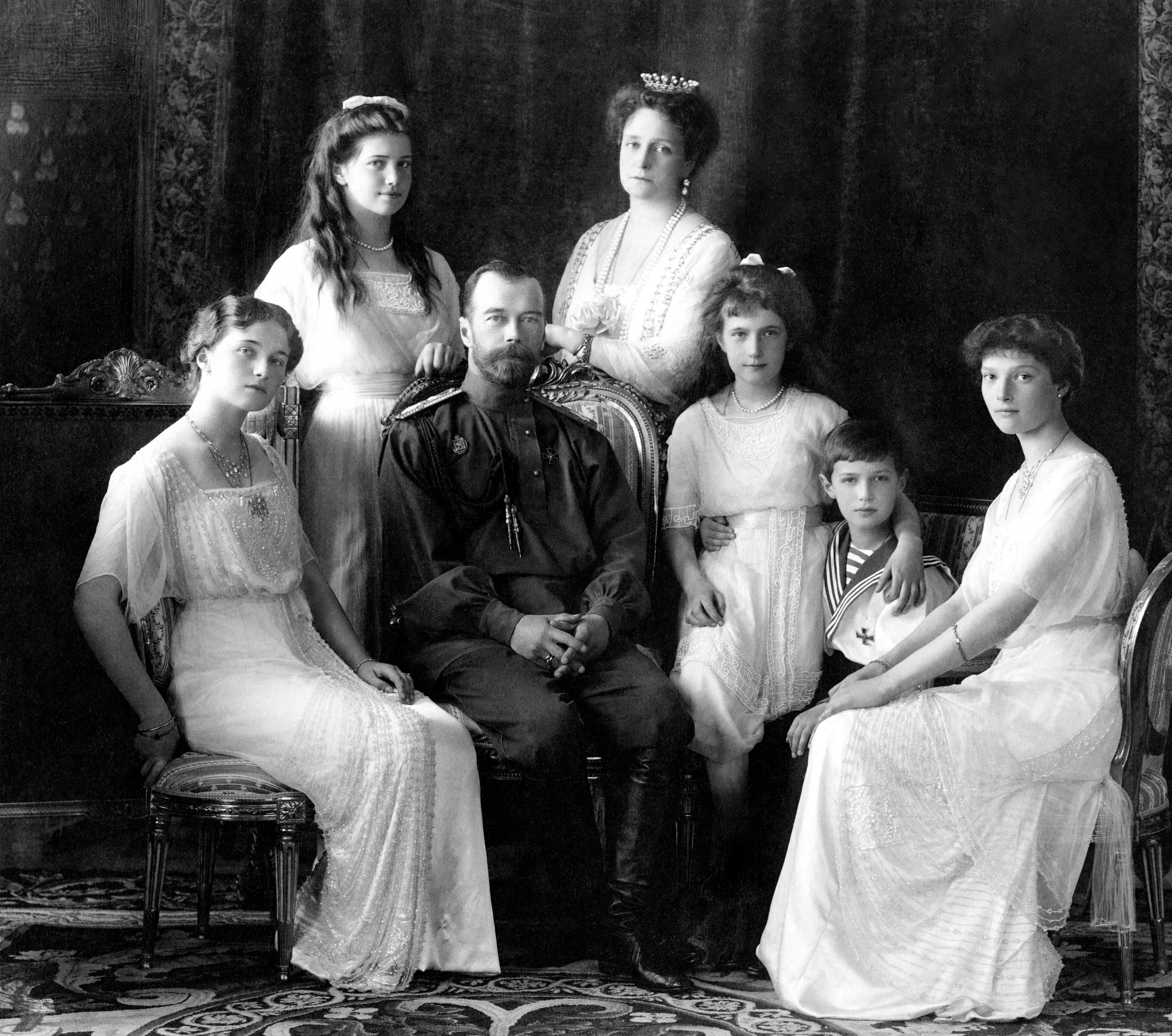 czar of russia family