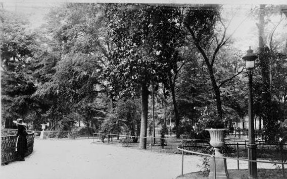 Savannah_1880s_Forsyth_Park__This_is_an_albumen_printfrom_field_notes