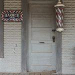 vintage barber, Texas (Carol Highsmith, Library of Congress)