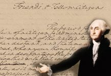 President George Washington wanted Union and brotherly affection to be perpetual